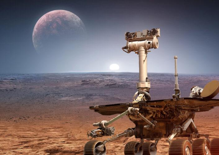Lądowanie łazika Perseverance. Nasa publikuje pierwsze nagranie z Marsa