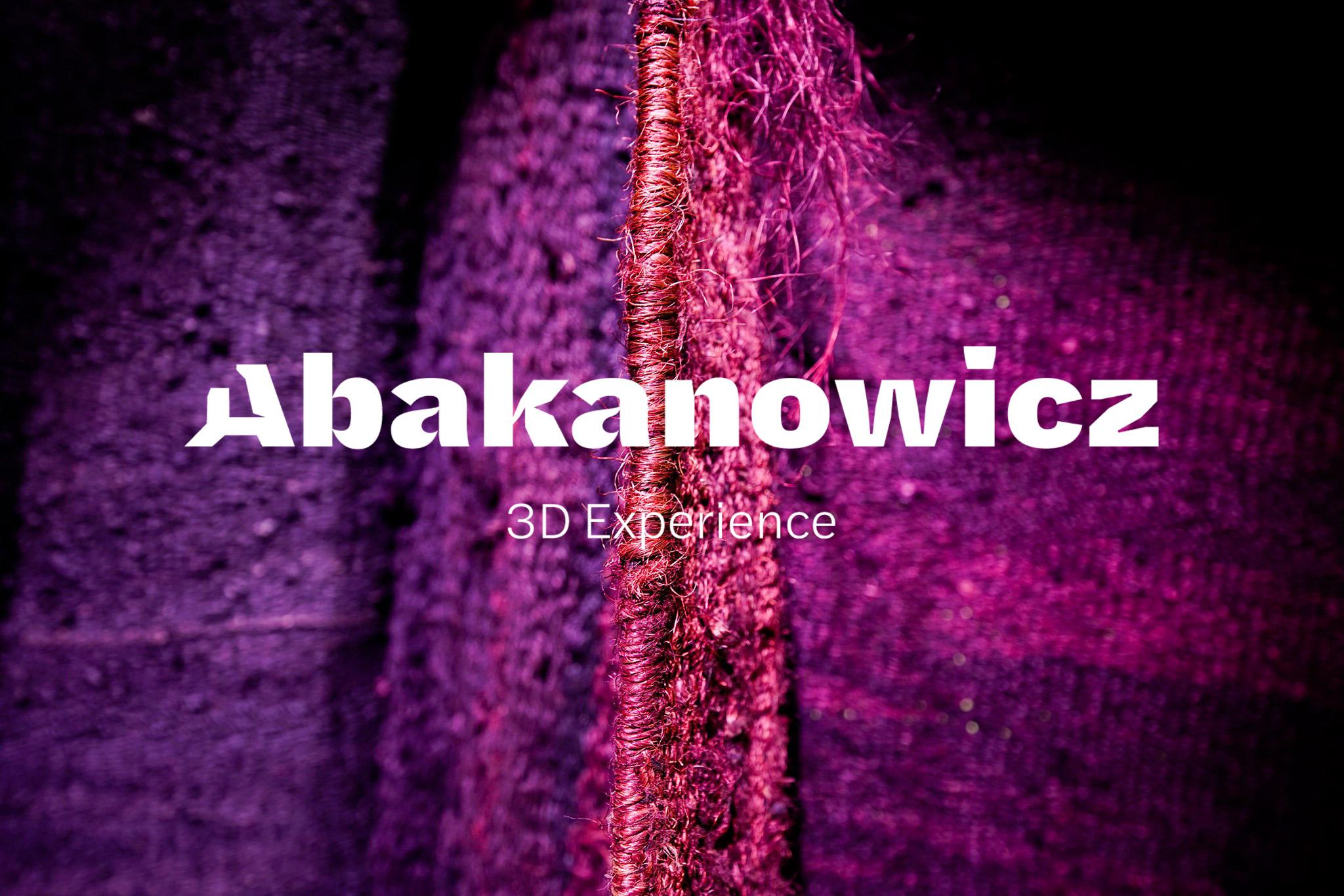 Abakanowicz 3d – wykorzystanie nowych technologii w edukacji kulturalnej i muzealnictwie