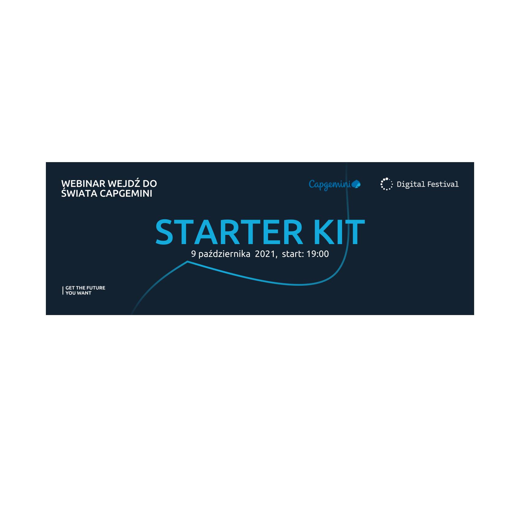 Webinar: Wejdź do świata Capgemini – Starter Kit