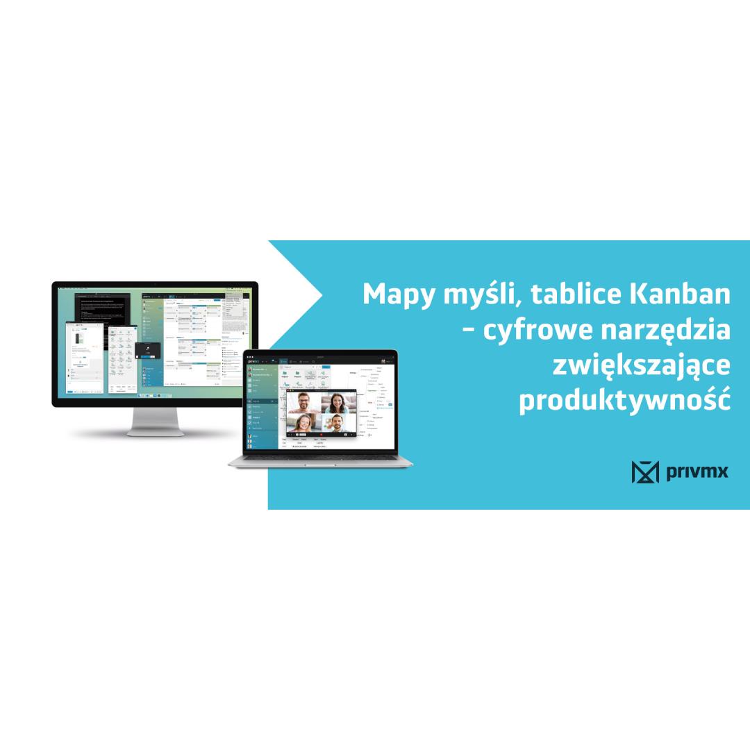 Mapy myśli, tablice Kanban – cyfrowe narzędzia zwiększające produktywność