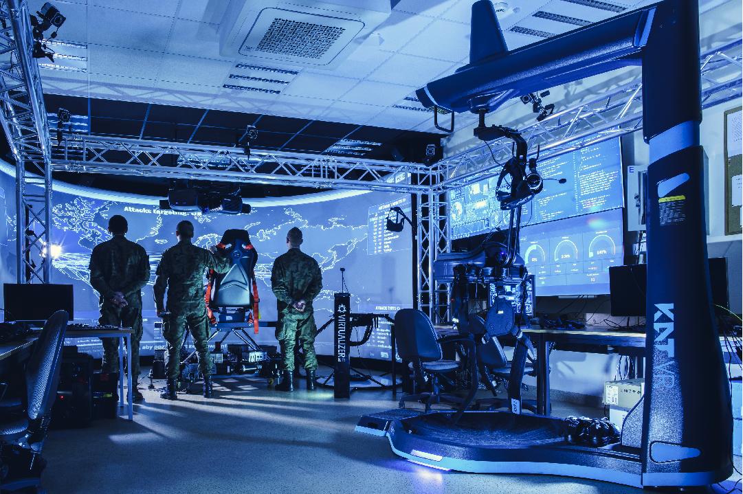 Noc Innowacji w Laboratorium Zobrazowania Wielkoformatowego i Symulacji Rozszerzonej WCY WAT